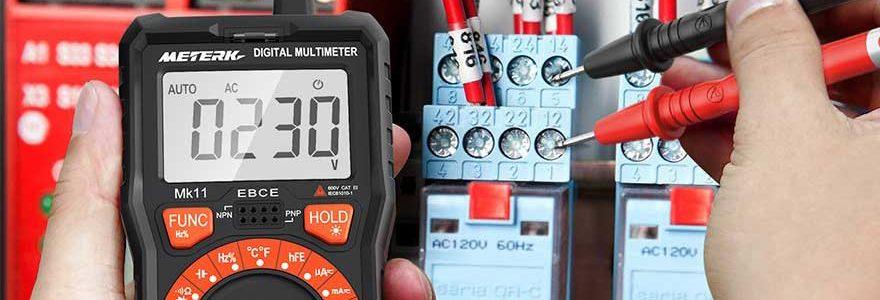Los 8 multímetros digitales con mayor precisión en CA y CC