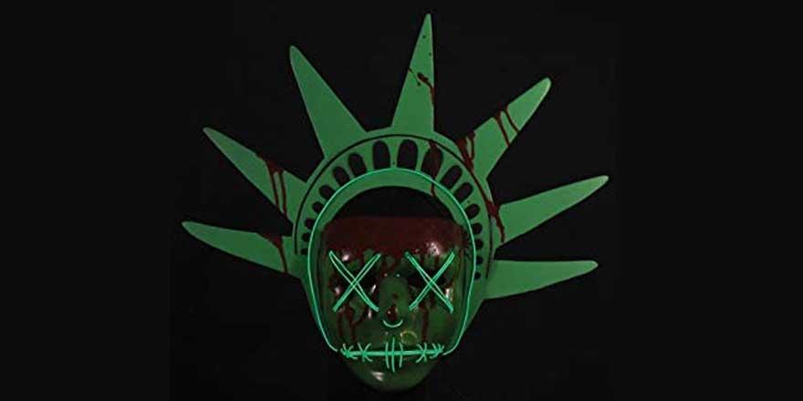 mascaras de la Purga con LED
