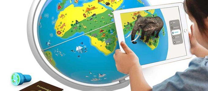 Los globos terráqueos interactivos en español más didacticos