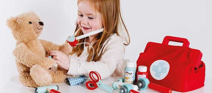 Los mejores maletines médicos de juguete para niños y niñas