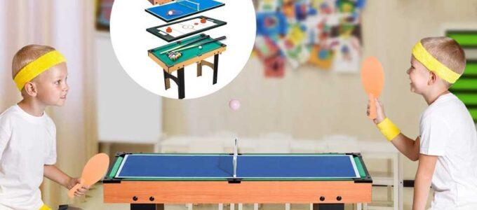 Las mejores mesas multijuegos 12 en 1 para niños y niñas