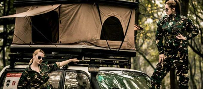 Las tiendas de campaña acopladas al coche más cómodas