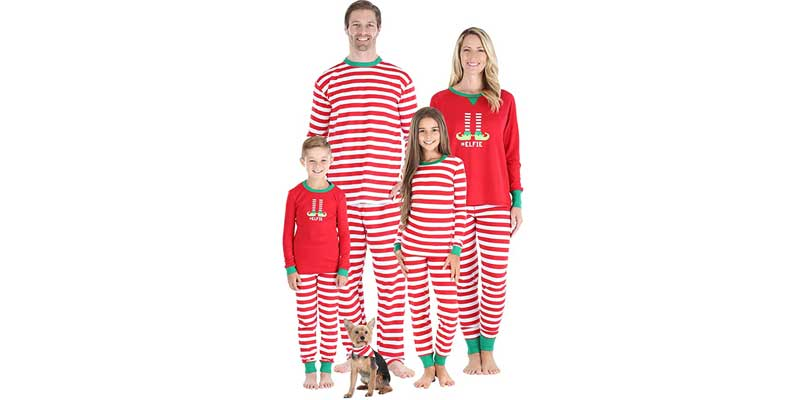 pijamas familiares de navidad