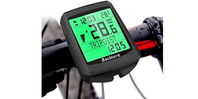cuentakilómetros de bici