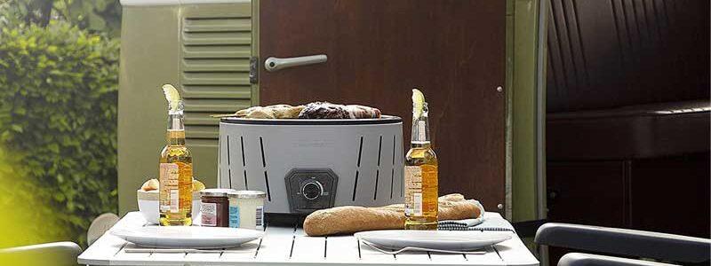 Las barbacoas sin humo que menos humo emiten al exterior