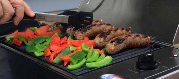 Las parrillas eléctricas que mejor asan carne, verduras y pescado